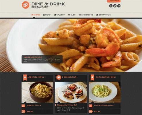 Pizza Pasta Restaurant Webseite