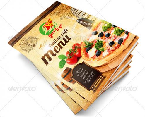 Pizzeria Flyer Vorlage
