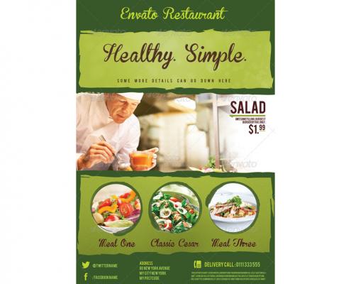 Salatbar Flyer