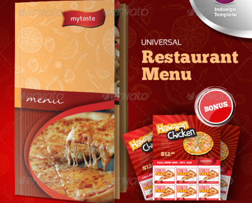 Universal Restaurant Menu Indesign1