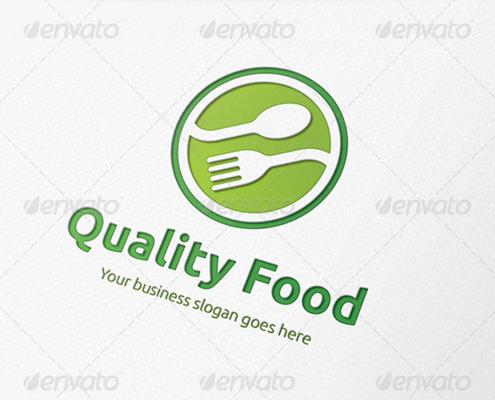Restaurant Logo grün