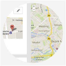 Restaurant Anfahrtskarte Google