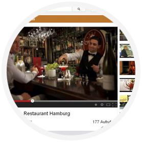 restaurant video werbung