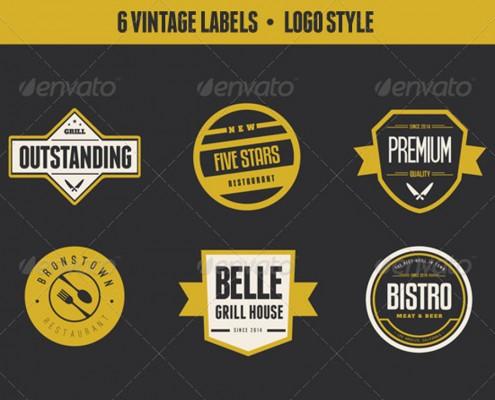 Vintage Labels V2 1