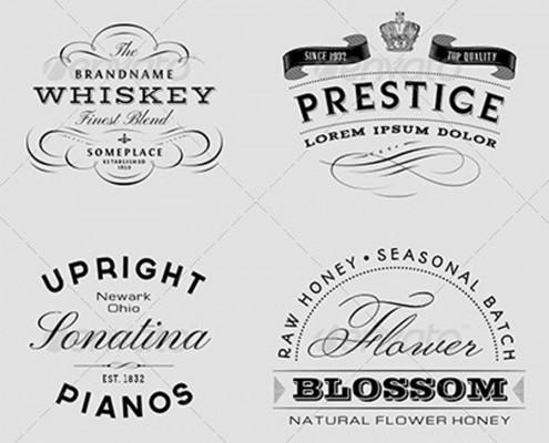 vintage labels 7