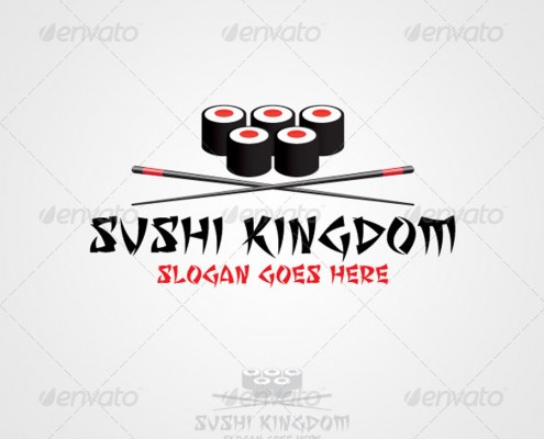 Sushi Kingdom Logo