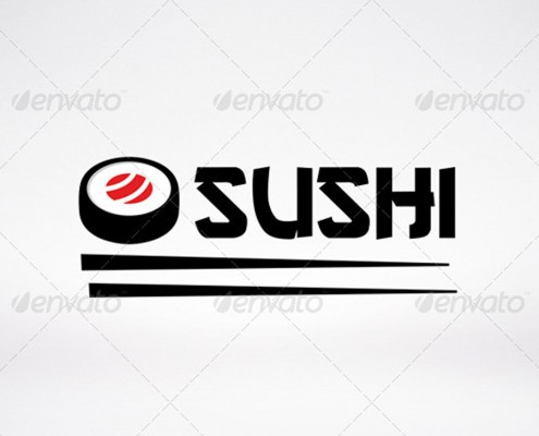 Sushi Logo Template Preview