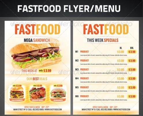 FastFood Flyer 1