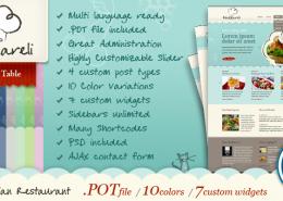 Mazzareli WordPress Theme cover