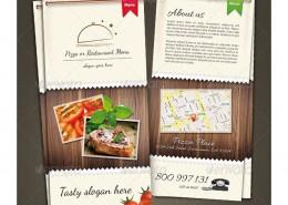 restaurant menu prewiev 1