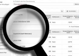 Restaurant Keywords und Suchbegriffe