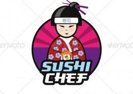 DOA_Sushi_Chef_Logo_Template