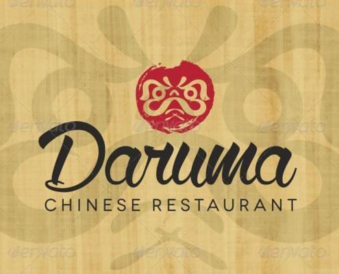 Daruma Restaurant Logo 3