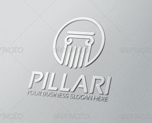 Pillari Logo Template 2