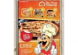 Pizza Flyer Menu 1