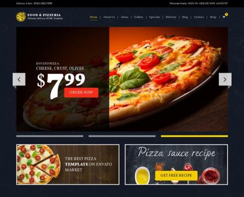 Food-Pizzeria-Lieferservice-Wordpress-Theme