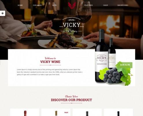 Vicky-Theme-Weinrestaurant