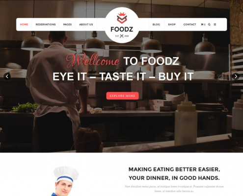 foodz-wordpress-restaurant-theme