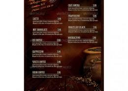 Coffee-Room-Flyervorlage