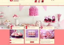 Cafe Kuchen Konditorei Webseite