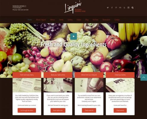 Linguini Homepage