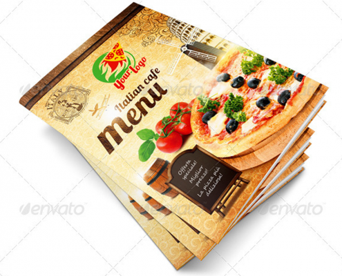 Pizzeria Flyer Vorlage