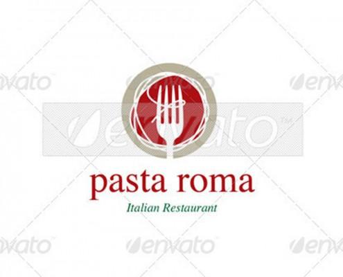 italienisches Restaurant Logo