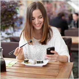soziale medien restaurant