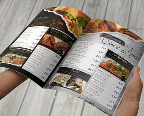 gute speisekarte erstellen