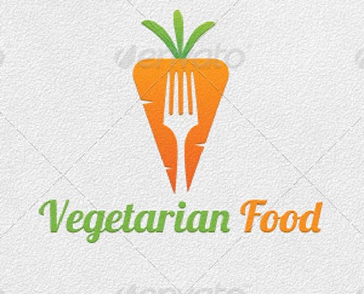 vegetarisches veganes restaurant logogestaltung. Black Bedroom Furniture Sets. Home Design Ideas