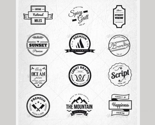15 vintage retro restaurant logos