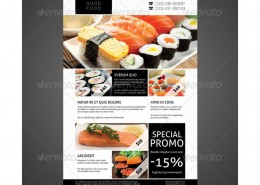 Restaurant Flyer sushi 3