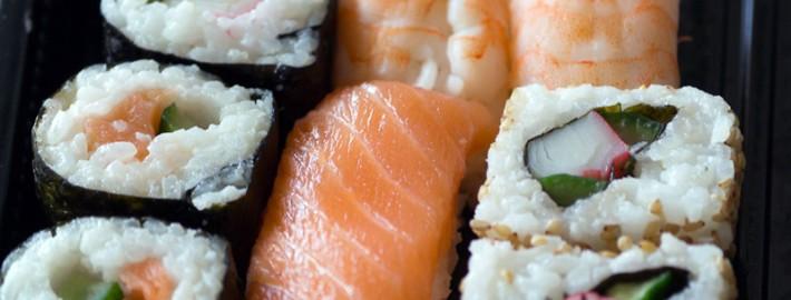 Sushi Restaurant Werbung