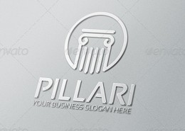 Pillari Logo Template 2
