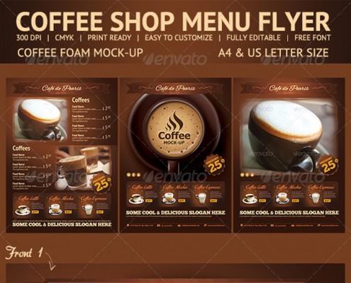 Coffee-Shop-Vorlage-Speisekarte-Photoshop